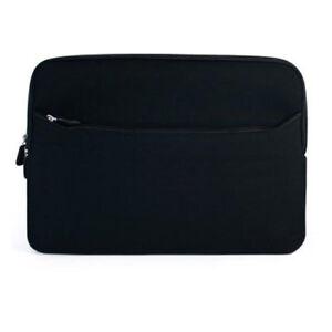 """Neoprene Zipper Sleeve Case Cover for Dragon Touch 7"""" Tablet - Black"""