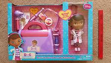"2014 Disney Doc McStuffins 7 Piece Doctor's Bag + BONUS 9"" Doll Pretend Play NEW"