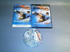 SOCCER MANAGER PC CD ROM WIND 95/98/XP