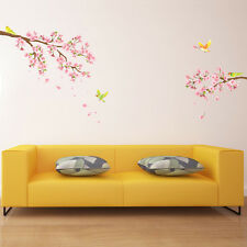 Decowall DW-1303 Cherry Blossoms & Birds Wall Stickers Tattoo Room Decals