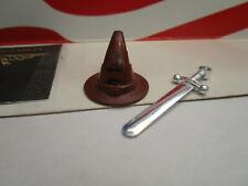 LEGO HARRY POTTER GRYFFINDOR CHROME SWORD AND SORTING HAT  FOR SET 4842 HOGWARTS