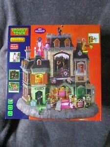 Halloween Lemax Spooky Town, Horrid Haunted Hotel   #15725  2021  NEW