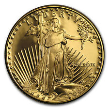 1989-W 1 oz Proof Gold American Eagle (w/Box & COA)