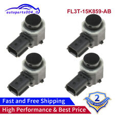 4PCS PDC Parking Sensor Fits For Ford Escape Lincoln MKS Mercury FL3T-15K859-AB