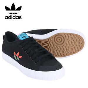 Adidas Originals Nizza Trefoil Men's Running Shoes Sneakers Casual Black FW4540