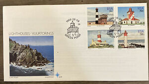FDC FIRST DAY COVER LIGHTHOUSES RSA
