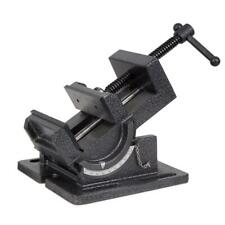 Wen 4.25 in. Tilting Angle Vise Industrial Strength for Benchtop Drill Press