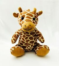 "Calplush Plush Giraffe 11"" Seated Stuffed Toy Animal Lovey"