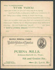 1898 Ralston-Purina Sells Barrels Of Wheat Flour & Barley Bkfst Foods See Info