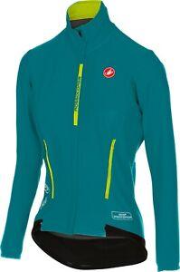 Castelli Women's Perfetto/Gabba Long Sleeve Cycling Jacket Green : Size Small