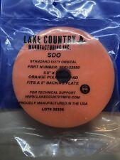 "Lake Country 5 1/2"" SDO Orange Foam Polishing Pad"
