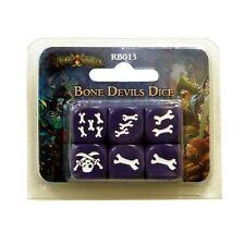 Bone Devils Dice - Rum and Bones D6 Dice set