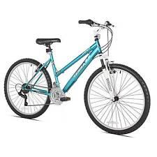 "Kent Terra 2.6 - 26"" Ladies Mountain Bike 21 Speed - Teal/White"