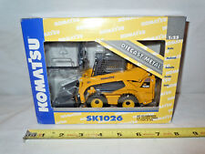 Komatsu SK1026 Skid Loader With Attachments  By DCP 1/25th Scale  !
