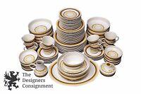 Stunning 87 Piece Noritake Expressions Alhambra China Dinnerware Vtg Southwest