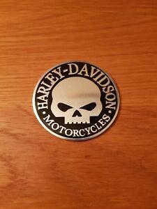 harley davidson Willie g motorcycle gas fuel tank  skull badge emblem logo