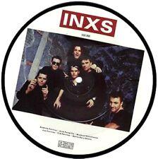 "EX/EX!  INXS NEVER TEAR US APART PICTURE PIC DISC 7"" VINYL"