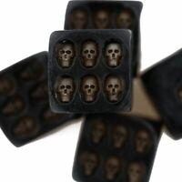 Nemesis Black Skull Dice Grinning Skull Devil Poker Dice Tower Death Gambling