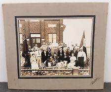 RARE Orig. c.1937 Guglielmo Marconi Society Sault Ste. Marie, ON Fausto Photo #2