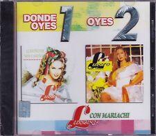 Lucero Donde Oyes 1 Oyes 2 Con Mariachi CD New Sealed Nuevo