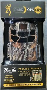 BROWNING DARK OPS MAX HD TRAIL CAMERA - 20MP PICS - BRAND NEW NEVER OPENED!!!!!