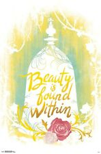 BEAUTY & THE BEAST - WITHIN POSTER - 22x34 DISNEY 15594