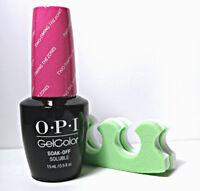 OPI GelColor Two Timing the Zones GC F80 Soak Off LED/UV Gel Polish .5oz +BONUS