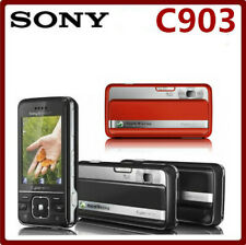 "Original Sony Ericsson C903 Cell Phones 3G Bluetooth Mp3 Player 2.4"" 5Mp Camera"
