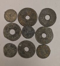 1659-1823 PALEMBANG SULTANATE Nine Coin Collection Lot (#L5496)