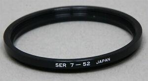 SERIES VII 7 Thread to 52mm Thread METAL STEP-DOWN RING