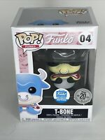 Funko POP! 20th Anniversary Vinyl Figure - T-BONE (Black) #04 *Funko Shop Excl*