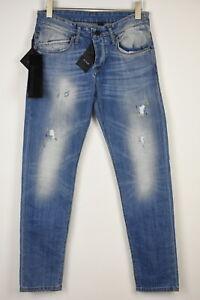 Takeshy Kurosawa TK 08 Bart Herren W32 L31 Vintage Farbe Flecken Rips Jeans
