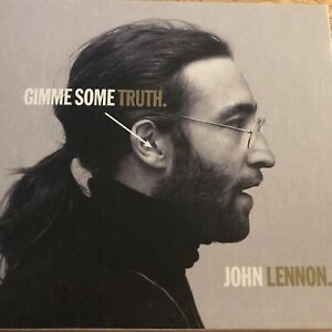 JOHN LENNON - GIMME SOME TRUTH CD, BOOKLET & POSTER DELUXE *NEW RELEASE* NEW