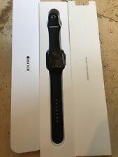 Apple Watch Gen 2 Series 1 42mm Space Gray Aluminum – Black Sport Band MP032LL/A