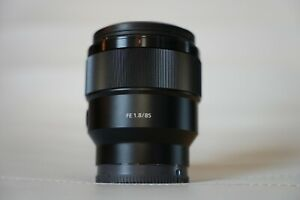 Barely Used Sony SEL 85mm F/1.8 FE Lens!