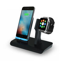 Onn ONA19WI704 2 IN 1 Wireless Fast Charger Charging Pad Stand
