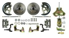 Brake Conversion Kit-Booster Power Disc Conversion Front The Right Stuff