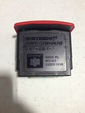 NINTENDO 64 EXPANSION PACK PAK MEMORY FOR N64 SYSTEM CONSOLE AUTHENTIC NES HQ