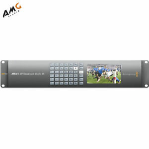 Blackmagic Design ATEM 4 M/E Broadcast Studio 4K SWATEMRRW4ME4K BACKORDER