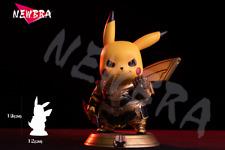 NEWBRA Studio Thanos Pikachu resin statue limited 200 infinity gauntlet pokemon