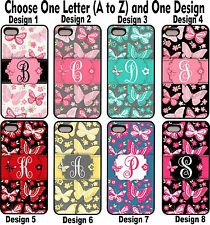 For iPhone 5 5s Butterfly Group 1 Personalized Monogram Phone Case Cover