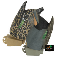 AVERY GREENHEAD GEAR GHG PRO GRADE GREEN WINGED TEAL BUTT UP FEEDER DECOYS PAIR