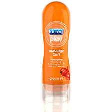 Gel  Lubrificante Guarana DUREX Play Massage azione energizzante