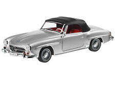 NOREV MERCEDES BENZ 190 SL 1:18 Silver Rare Dealer Edition!**Hard to Find**