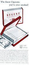 PUBBLICITA' 1940 SIGARETTE REGENT TABACCO FUMO SMOKE PACCHETTO BAR CIGARETTE
