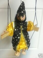 TELLON COLLECTION WIZARD CLOWN  string marionette puppet  puppets wizards