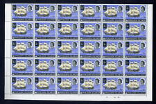 PITCAIRN Is.1967 1c on 1d MINT SHEET...60 stamps
