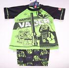 Lego Star Wars Darth Vader Boys Green Black Printed Pyjama Set Size 3 New