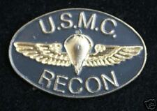RECON LAPEL HAT PIN UP US MARINES JUMP WINGS GUNNY HIGHWAY MOVIE Reconnaissance