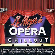 LO MEJOR DE OPERA CHILLOUT-3CD